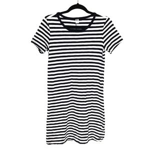 Old Navy Striped Tshirt Dress